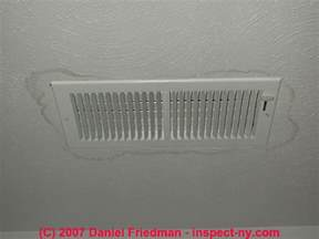 heating or air conditioning duct up duct flood damage