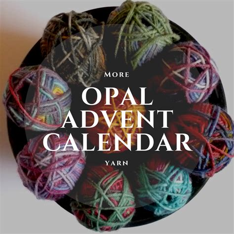 advent yarn abso knitting lutely more opal advent calendar yarn