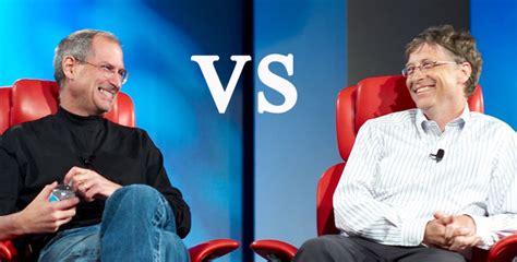 Gate Vs Mba by Bill Gates Vs Steve Mba Mci