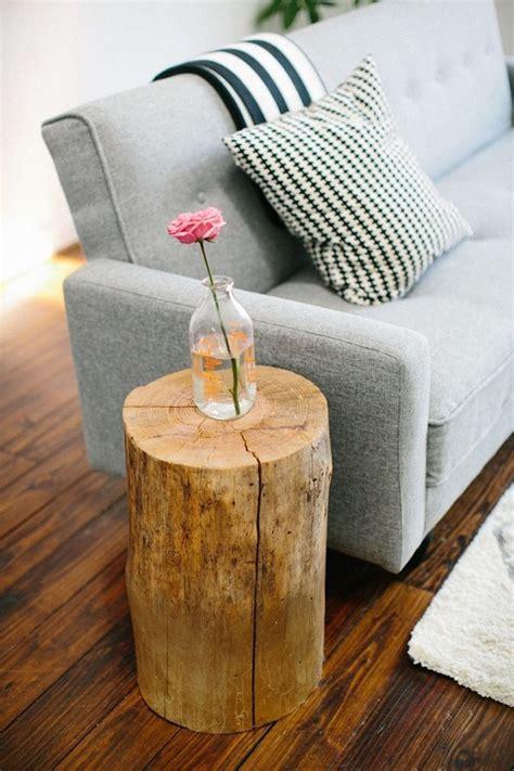 table de nuit rondin de bois 1001 id 233 es table en rondin de bois un tronc peut en