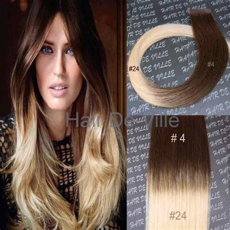 two tone hair color on top light on bottom 10 pieces 20 quot inches balyage ombre two tone