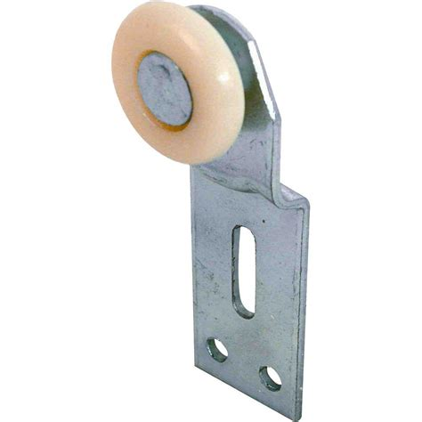 Closet Door Rollers Prime Line 1 In Front Position Top Hung Bypass Closet Door Rollers And Brackets 2 Pack N 6512