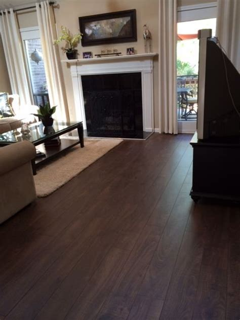 25  best ideas about Dark laminate floors on Pinterest