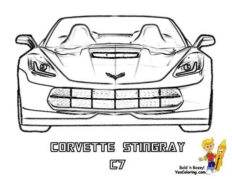 corvette coloring pages gusto car coloring pages porsche corvette free