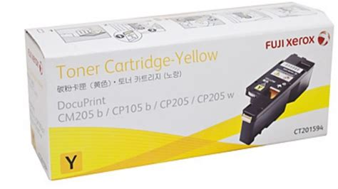 Fuji Xerox Yellow Toner Ct350488 buy fuji xerox ct201594 toner cartridge yellow harvey norman au
