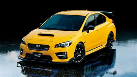 yellow subaru wrx 2016 subaru wrx sti s207 limited edition picture 653302