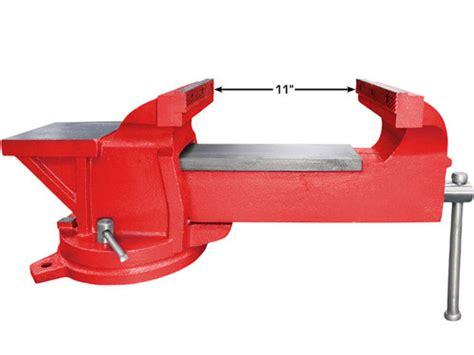 industrial bench vise