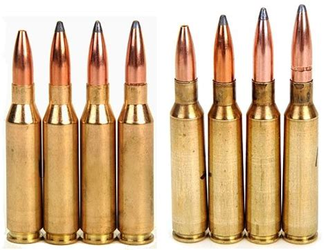 Bullet Comparison Large Caliber Tank Busters One Of Real Guns The 260 Remington Versus The 6 5x55 Swedish