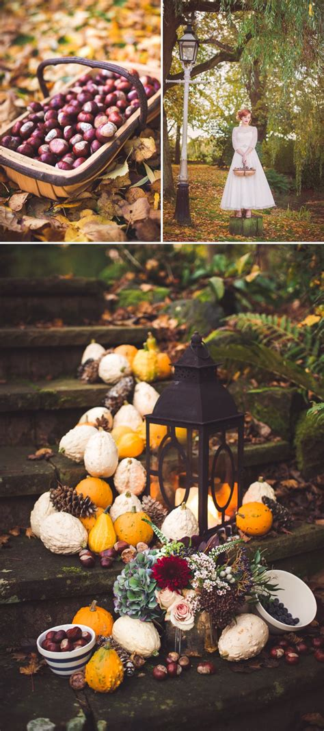 fall decorations uk autumn fall inspired wedding decor and fashion editorial