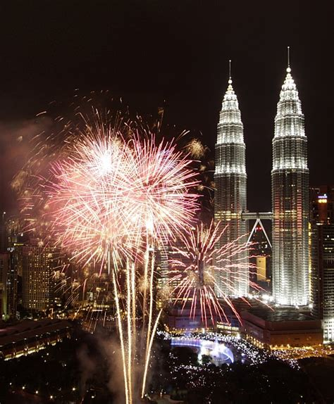 new year celebrations in kuala lumpur 2015 photos revellers welcome 2013 rediff news