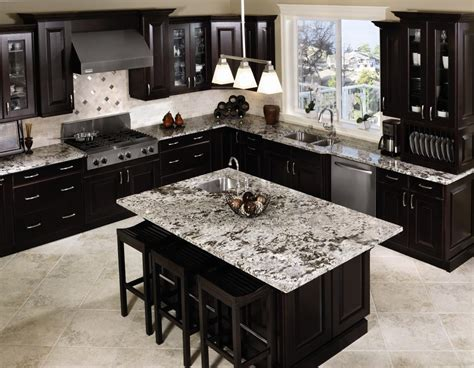 modern dark brown kitchen cabinets kitchen designs with black appliances glass door storage