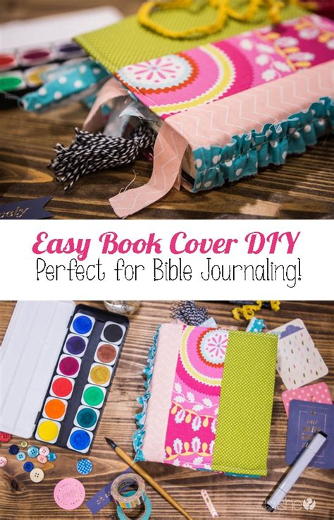 Easy Diy Cover by Easy Book Cover Diy For Bible Journaling How