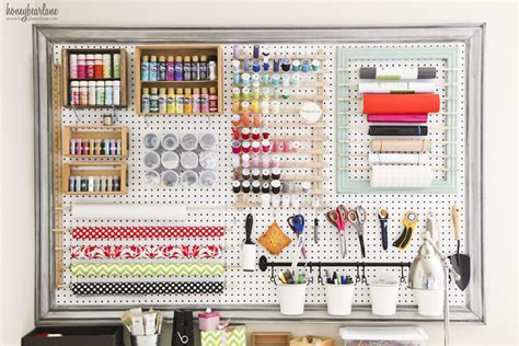 Pegboard Craft Room Craft Room Pegboard Ideas Car Interior Design