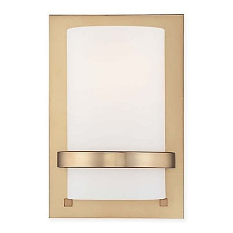 wall l shade opal g l wall l shade latte g l minka lavery 174 wall sconce in honey gold with etched opal