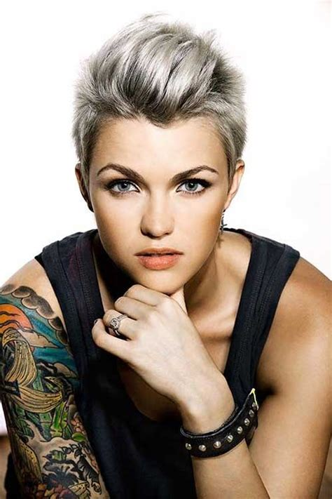 ruby rose hairstyles 15 best short punk haircuts short hairstyles haircuts 2017