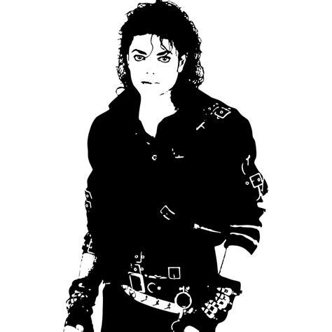 imagenes en blanco y negro de michael jackson esta pegatina muestra la imagen del rey del pop michael