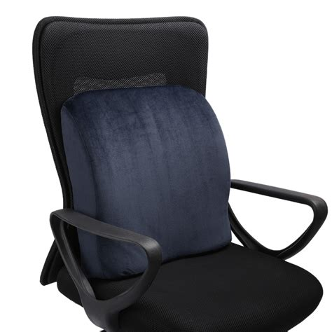 Office Chair Pillow by Lumbar Cushion Back Support Travel Pillow Memory Foam Car