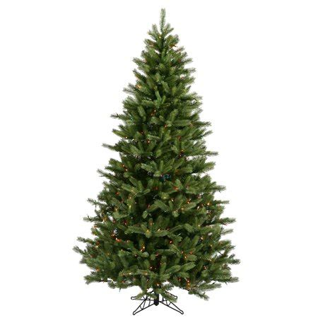 cyber monday vickerman christmas multi light show tree vickerman 16092 9 x 63 quot black spruce 1200 multi color duralit miniature lights