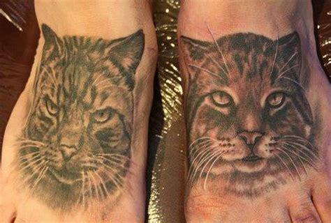 cat tattoo black and grey christel perkins tattoonow