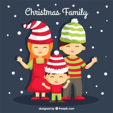 Family Natal I Do ilustra 231 227 o da fam 237 lia do natal baixar vetores premium