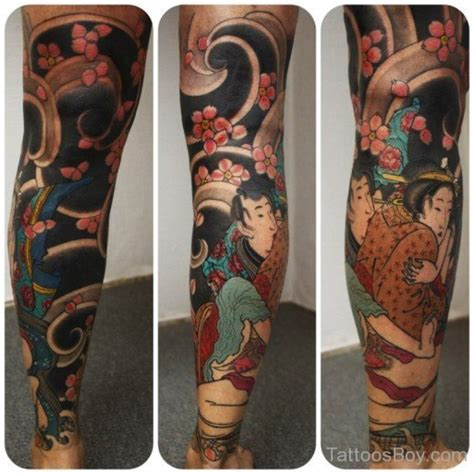 japanese leg tattoos for men leg tattoos designs pictures page 8