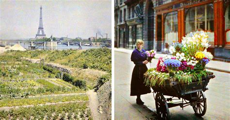 fotos antiguas a color curiosas fotos a color de par 237 s hechas hace 100 a 241 os