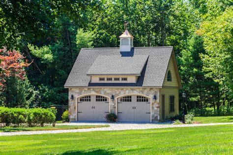 24 x 24 newport 2 car garage the barn yard amp great