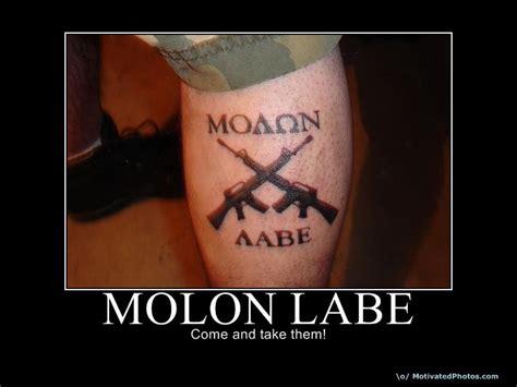 molon labe tattoo ideas molon labe tattoos