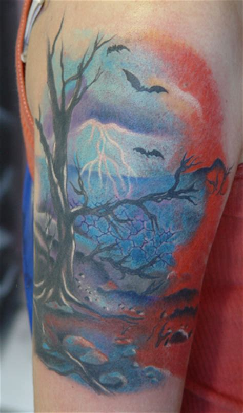 scenery tattoos scenery images designs