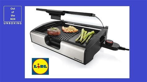 Grille Lidl by Silvercrest Tabletop Grill Stgg 1800 A2 Unboxing Lidl