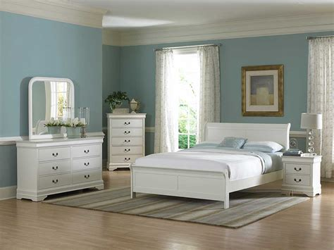 choose perfect design of white bedroom furniture theme