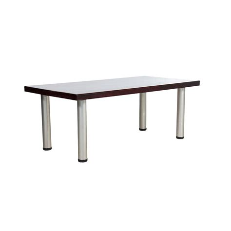 standard coffee table mahogany unik furniture hire