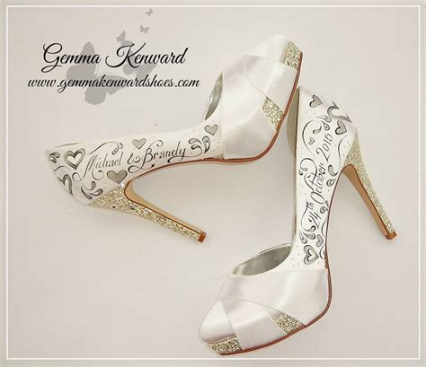Wedding Shoes With by High Heel Wedding Shoes