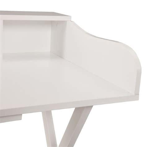 folding student desk southern enterprises thorton folding craft student desk white