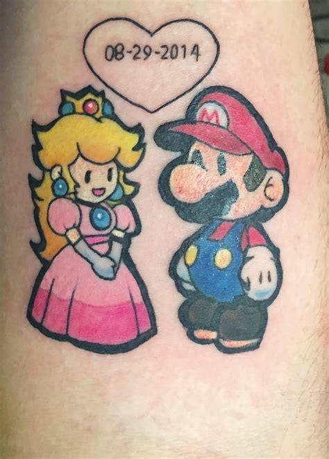 small mario tattoos small mario on sleeve