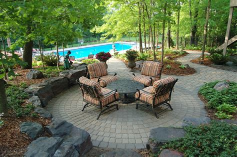 Privacy Screens For Backyards Terraced Pool Project Traditional Patio Minneapolis