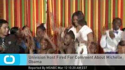 Make Me A Supermodel Host Fired For Insulting by Univision Host Fired For Comment About One News