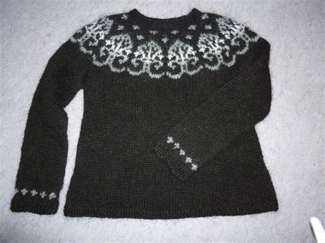 icelandic pattern jumper you have to see icelandic sweater on craftsy