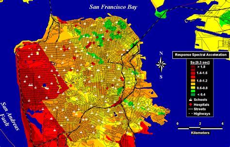 san francisco earthquake map usgs usgs earthquake map san francisco michigan map