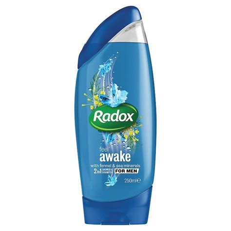 Shower Gel by Radox Feel Awake For 2in1 Shower Gel 250ml From Ocado