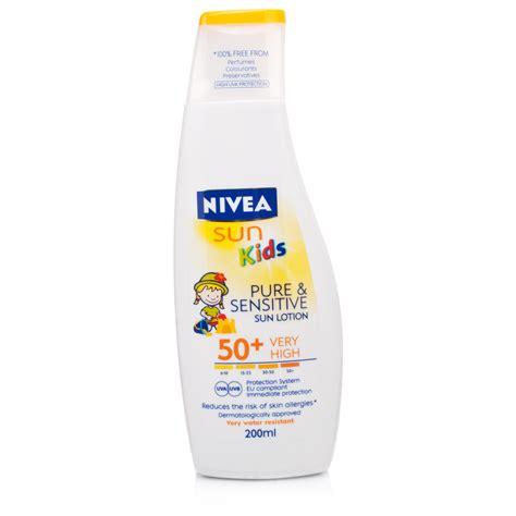 Nivea Sensitive Lotion Review nivea sun sensitive sun lotion aloe vera spf30