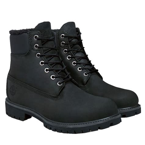 boots black mens timberland heritage 6 inch black mens boots