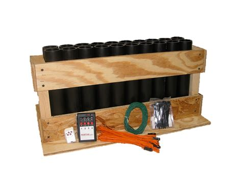 Mortar Racks by 20 Starter Combo Mortar Supply Firework Mortars