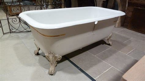 baignoire en fonte baignoire sur pieds en fonte 233 maill 233 e bca mat 233 riaux anciens