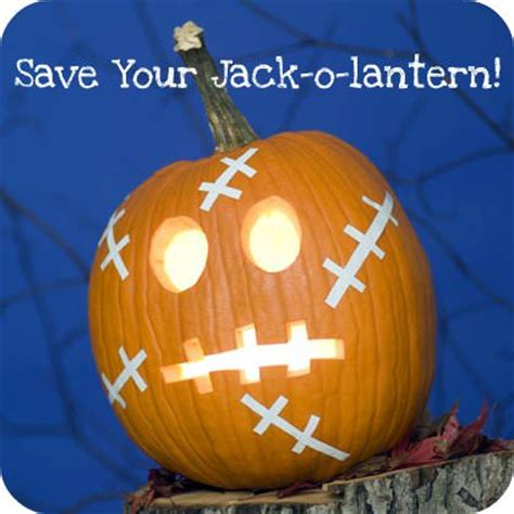 how to preserve your jackolantern tip junkie