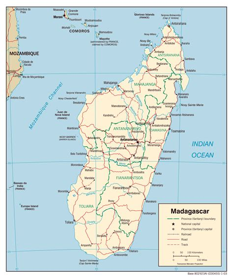 map of madagascar political map of madagascar with all cities madagascar political map with all cities vidiani