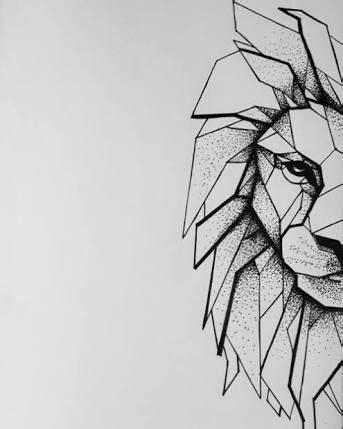 the 25 best lioness ideas resultado de imagem para geometric drawing