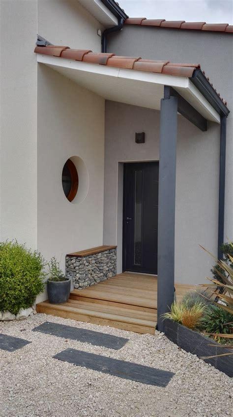 Amenagement Porche Maison by Banc Sur Gabion Home Designs Entr 233 E Maison D 233 Co