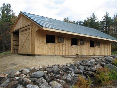 Gambrel Pole Barn by Horse Barns Variuos Style Horse Barns Quality Horse Barns