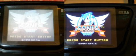 game gear tv out mod mcwill s sega game gear lcd upgrade retro modding